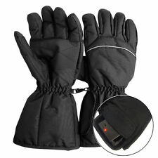 Waterproof Heated Gloves Battery Powered Motorcycle Hunting Winter Warmer