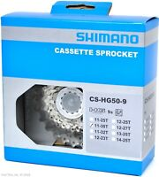 Shimano SORA CS-HG50-9 9-Speed 11-30t HyperGlide HG Road Bicycle Cassette 11-30