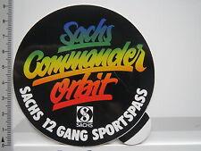 Aufkleber Sticker Sachs - Commander Orbit - 12 Gang - Sportspass (6415)