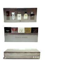 Giorgio Armani Travel Exclusive Mini Set  For Men 5 Piece Gift Set For Men