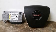 07 08 09 10 GMC Acadia Drivers Wheel Air Bag With Module 25861147