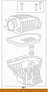 CHRYSLER OEM Air Cleaner Intake-Filter Box Housing 4861843AB