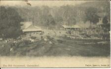 "Queensland Sg#286,#288 Bundaburg Sp/6/11 postcard view ""The Old Homestead"""
