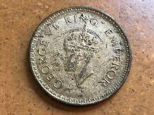 British - India 1943 (b) Silver One Rupee KM# 557.1