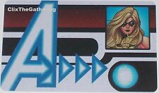 NFID-003 MS MARVEL ID CARD Nick Fury Agent of S.H.I.E.L.D Marvel Heroclix