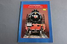 X080 FULGUREX Train catalogueHodate 1989 12 pages 29,7 *21 cm F D