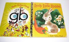The Lively Little Rabbit Little Golden Book 341 HC 1972 Gustaf Tengren