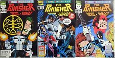 LOTTO MARVEL MINISERIE N.8-9-10 1994-95 THE PUNISHER DEVIL NOMAD