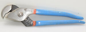 """Vintage CHANNELLOCK No. 410 Nutbuster 9 1/2"""" Slip Joint Pliers (INV H790)"""