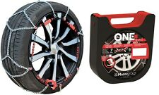 """Chaines Neige - Snow Chains THE ONE 7mm - 090 - 13"""" à 18"""" NEUVES"""