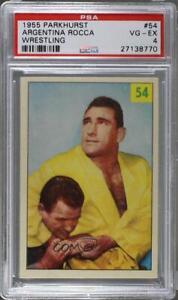 1955-56 Parkhurst Wrestling Antonino Rocca Argentina #54 PSA 4