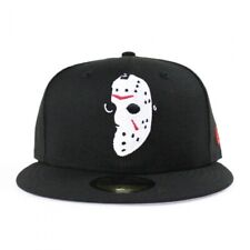 New Era Horror Friday the 13th Jason Voorhees 59Fifty 7 3/4 Black Fitted Cap Hat