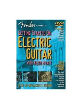 Fender Getting Started On Electric Guitar Learn to Play Beginner Tutor MUSIC DVD