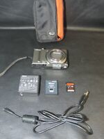 Nikon COOLPIX S9050 12.1MP Digital Camera - Silver w/ Battery Pack / Charger, SD