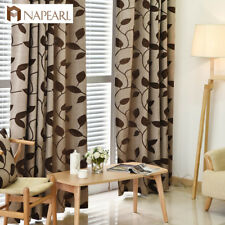 NAPEARL 1 Panel Shading Window Curtains Drapes for Living Room Polyester Fabrics