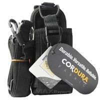 CORDURA FABRIC Heavy Duty Pouch Bag Holster Case for Motorola Kenwood ICOM Radio