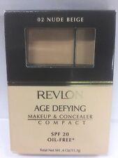 Revlon Age Defying Makeup & Concealer Compact NUDE BEIGE NEW.