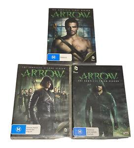 Arrow Season 1-3 Cw Region 4 Dc Comics