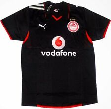 Olympiacos Soccer Jersey Olympiakos Football Shirt Maglia Maillot Trikot Black L