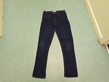 "Papaya Skinny Jeans Size 12 Leg 31"" Faded Dark Blue Ladies Jeans"
