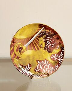 Pottery Barn HARRY POTTER™ Hogwarts™ Courageous Gryffindor Salad Plate NEW