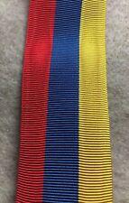 Romania - Ribbon for the 1922 Coronation medal
