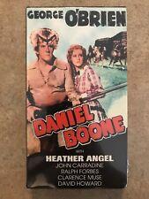 Daniel Boone VHS