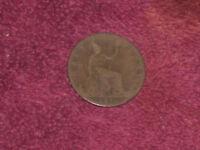 1890 half penny, Victoria, collectable grade.