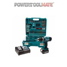 Makita - DHP453SFTK 18v Combi with 1x3ah Battery and 101 Piece Accessory Set