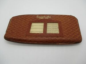 "Vintage ""Genuine Leather Pencil Case"""