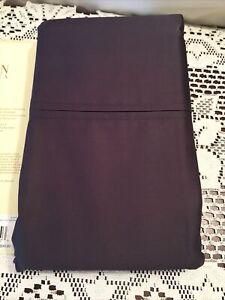 Ralph Lauren Prescott 2 Standard Pillowcases Slate Wrinkle Resistant 500TC