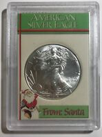 FROM SANTA - 2018 American Eagle 1 oz. - .999 FINE SILVER COIN