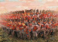British Infantry 1815 Napoleonic Wars Plastic Kit 1:72 Model ITALERI
