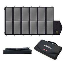 GIARIDE 18V 80W Foldable Solar Charger Dual 5V USB+18V DC Output Sunpower Solar