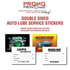 1000 Custom Vehicle Car Tyre Truck Auto Service Rotation Lube Stickers FREE Post