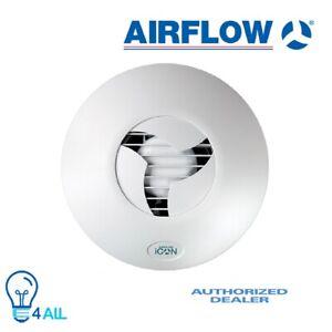 Airflow iCON ECO 15 240V 100mm Extractor Fan Stylish Fan For Discreet Ventila...
