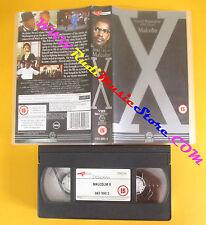 VHS film MALCOLM X Denzel Washington Spike Lee GUILD inglese (F142) no dvd
