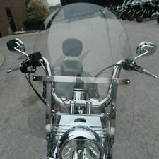 Detachable Windshield For Harley Heritage Softail Classic Fat Boy FL 2000-Up