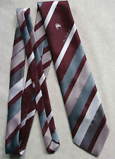 NEW ZEALAND TIE VINTAGE STRIPED STRIPES CLUB ASSOCIATION COUNTRY CRICKET RUGBY