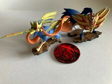 Zacian & Zamazenta Mini Figures Figurines (Official Pokemon TCG)
