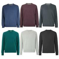 Ex M&S Marks and Spencer Mens Cotton Crew Neck Sweatshirt Marks & Spencer