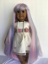 "Doll wig size 10-11 for 18"" doll fits American Girl, Madame Alexander (107)"