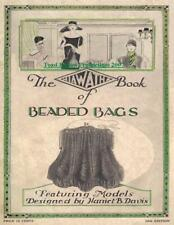 Antique 1927 Hiawatha # 10 Book of Beaded Bags on CD