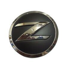 2003-2009 Fairlady 350Z Chrome Black ABS Z Letter Nameplate Fender Emblem Badge