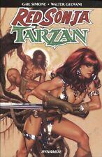 Red Sonja Tarzan Tpb
