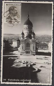 ROMANIA CLUJ 1938 CATEDRALA ORTODOXA PPC  USED