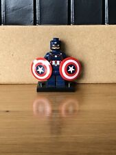 LEGO Marvel Super Heroes Mini Figure - Rare Captain America Figure