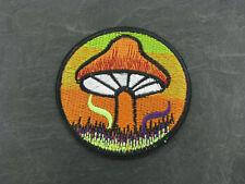 Patches Aufbügler Aufnäher Magic Mushrooms Zauberpilz Psilocybin Bügelbild Patch