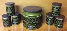 Green Vintage Original Hornsea Pottery Tableware