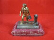 Victorian Bronze Statue Shoe Shine Boy